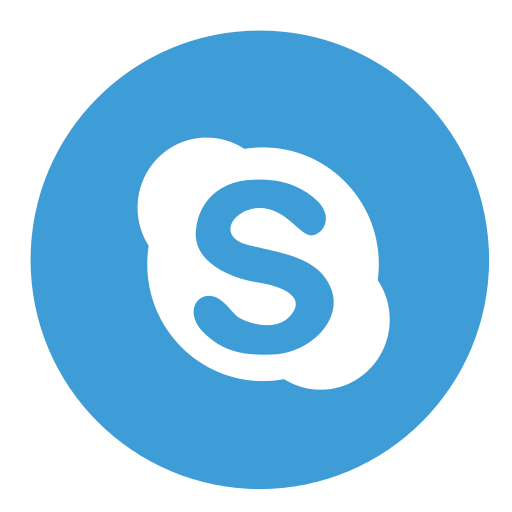 skype circle color-512